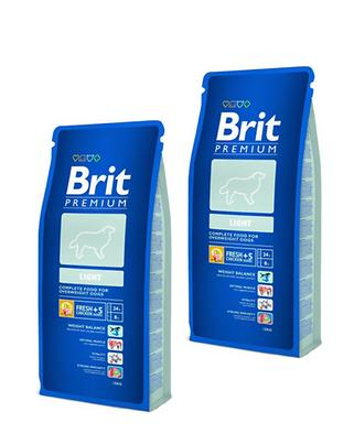 2 x Brit Premium Light 15 kg